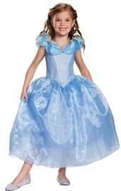 Детское голубое платье Золушки