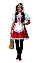 Взрослый костюм Красной Шапочки