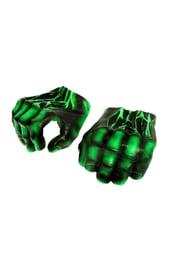 Детские перчатки Халка