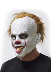 Латексная маска клоуна Пеннивайза