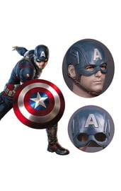 Латексная маска Капитана Америки