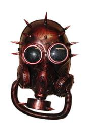 Красная стимпанк маска