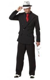 Взрослый костюм Гангстера