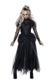 Взрослый костюм черной принцессы