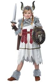 Детский костюм Викинга Девочки
