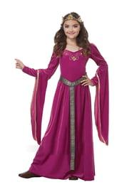 Детский костюм средневековой дамы
