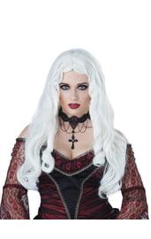 Белый парик готической леди