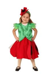 Детский костюм Цветочек мак