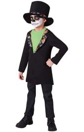 Подростковый костюм Скелета в цилиндре