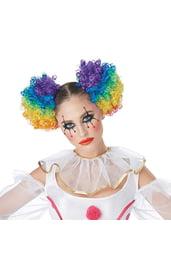Разноцветные хвостики клоунессы