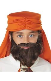 Детская борода и усы мудреца
