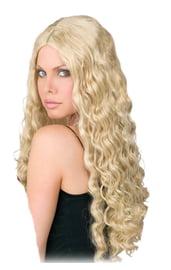Длинный парик блондинки 60 см