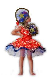 Детский костюм космической Звездочки