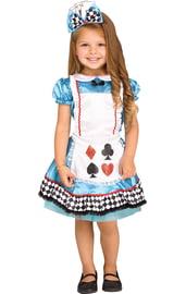 Детский костюм Алисы с бантиком