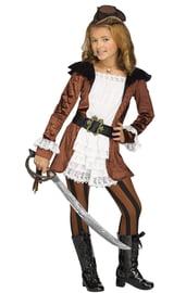 Детский костюм смелой Пиратки