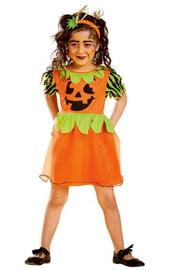 Детский костюм тыквы на Хэллоуин