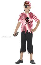 Детский костюм Пирата с черепом
