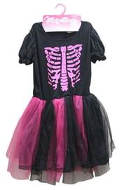Детский костюм Скелета девочки