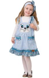 Детский костюм Голубой зайки