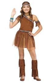 Детский костюм девочки индейца