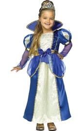 Детский костюм синей королевны