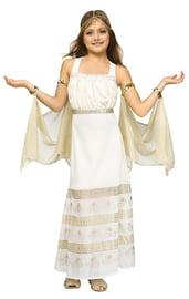 Детский костюм Золотой греческой богини