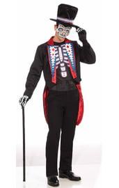 Мужской костюм на день мертвых