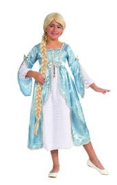 Детский костюм принцессы в башне