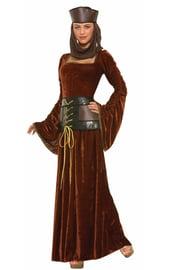 Средневековый костюм дамы