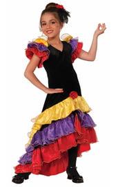 Детский костюм танцовщицы фламенко