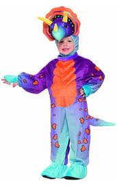 Детский костюм фиолетового динозавра