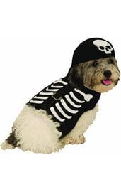 Костюм страшного скелета для собаки