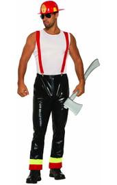 Взрослый костюм пожарного