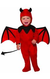 Красный костюм дьяволенка для малыша