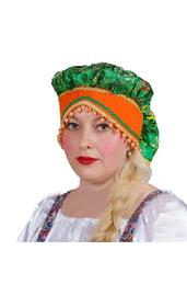 Взрослый русский зеленый чепец