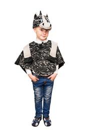 Детский костюм полосатой Зебры