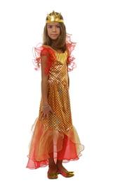 Детский костюм сказочной Золотой рыбки
