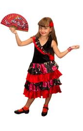 Детский костюм испанской девочки