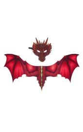 Карнавальный набор Дракон для взрослого