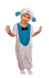 Детский костюм белой овечки