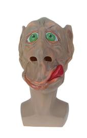 Латексная маска бежевого гоблина