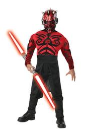 Взрослый костюм Дарта Мола с мышцами