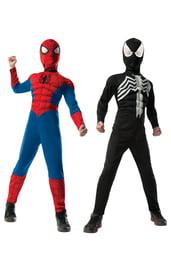 Детский двойной костюм Спайдермена