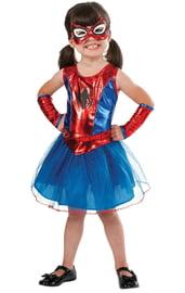 Детский костюм девочки Спайдергерл