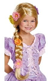 Детский парик с косой Рапунцель