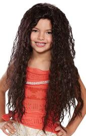 Детский волнистый парик Моаны