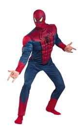 Взрослый костюм Спайдермена с мышцами