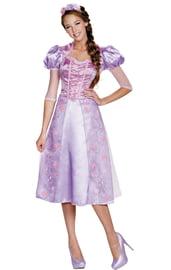 Взрослый костюм принцессы Рапунцель