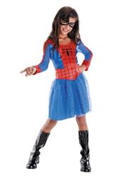 Детский костюм Спайдергерл в платье