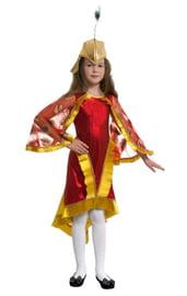 Детский костюм Жар-птицы с пером